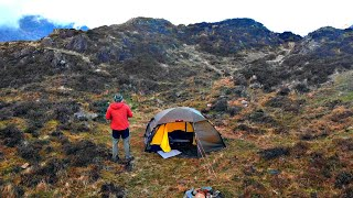 Solo Mountain Camping in the Hilleberg Allak 2 | Wainwrights Final Resting Place