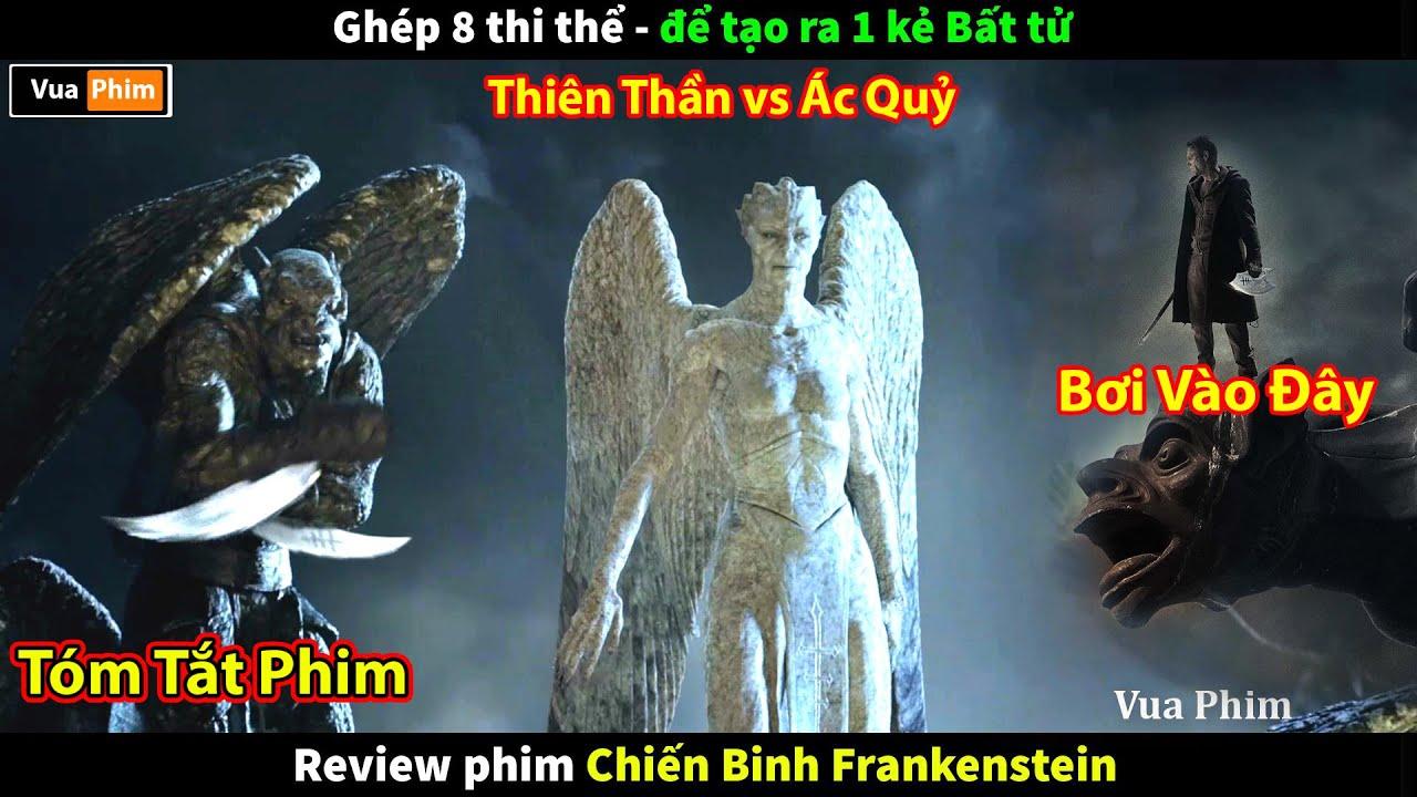 Download Thiên Thần và Ác Quỷ đại chiến - review phim Chiến Binh Frankenstein