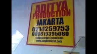 Mesin Potong LASER ACRYLIC  24 JAM
