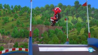 Ricky Zoom - Ricky Speed and Stunt |  ريكي زووم - ريكي السريع مع حركات بهلوانية