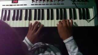 """Evan Craft & Nicole Garcia """"Vives En Mí""""  (Teclado-Piano)"""