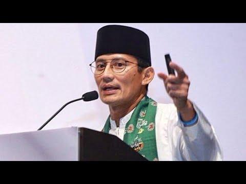 "Sandiaga Sesalkan SBY ""Walk Out"" Di Kampanye Damai 2019"