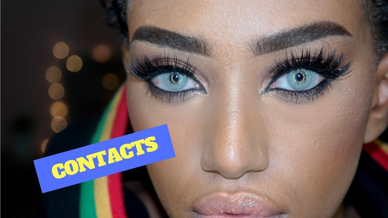 Review: Solotica Hidrocor Avela (Hazelnut) Contact Lens ...