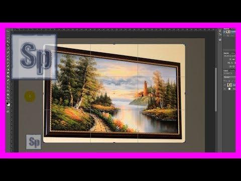 Photoshop - Cómo Poner Recta Una Imagen En Perspectiva Con Photoshop. Tutorial En Español HD