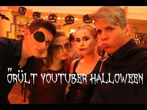 youtube filmek - Őrült Youtuber Halloween 2015 | AvianaRahl