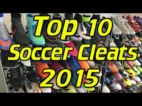 Top 10 Soccer Cleats/Football Boots of 2015