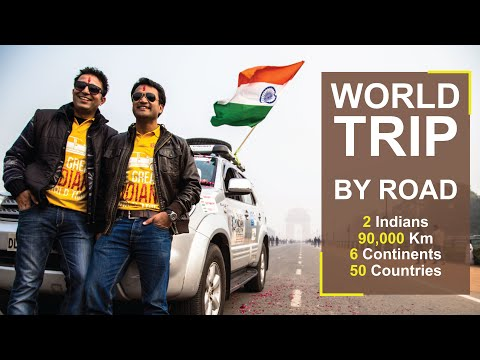 The Great Indian World Trip - Teaser (Official Trailer)