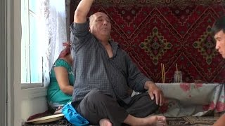 Казахстан  Магический обряд изгнания злых духов