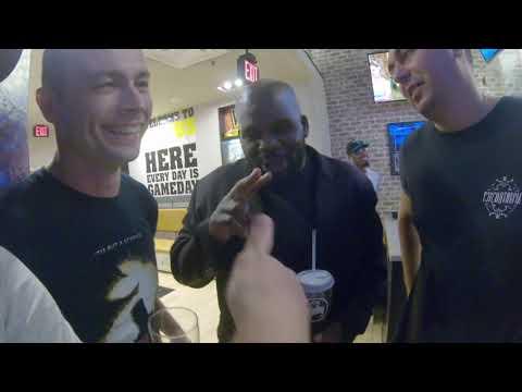 Russian's Reaction Of Khabib Nurmagamedov Vs Conor Macgregor UFC 229  In A Bar At Los Angeles, CA