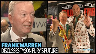 """Tyson Fury is the best I've ever seen from a British boxer!"" Frank Warren reacts to Wilder v Fury 2"