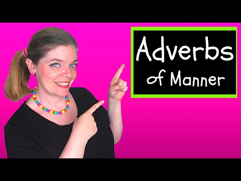 Adverbs of Manner: How to use Adverbs of Manner to Improve English Grammar!   様態の副詞を使って英文法を上達させる方法!
