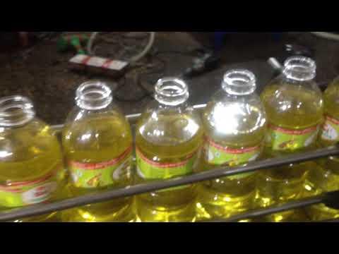 mustard oil filling machine  BHARDWAJ