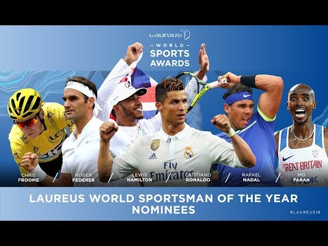 Laureus World Sport Awards Nominees 2018