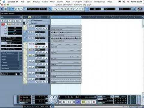 Cubase Tutorial : Basic MIDI sequencing