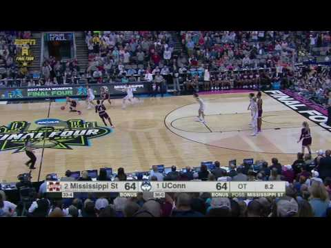 Buzzer beater!!!!!!! Undefeated UConn stunned by Miss St.2017 women