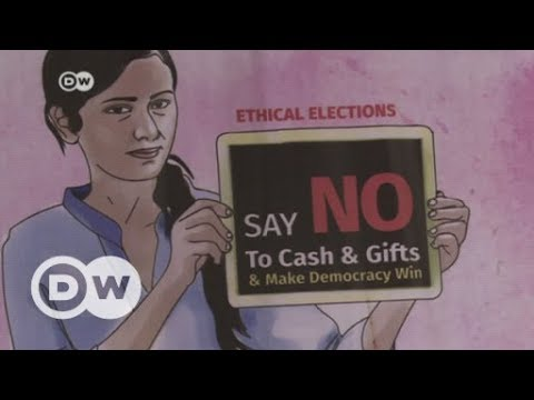 How candidates 'buy' votes in India | DW English