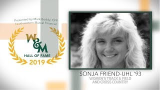 2019 W&M Athletics Hall of Fame - Sonja Friend-Uhl '93 Women's Cross Country and Track & Field