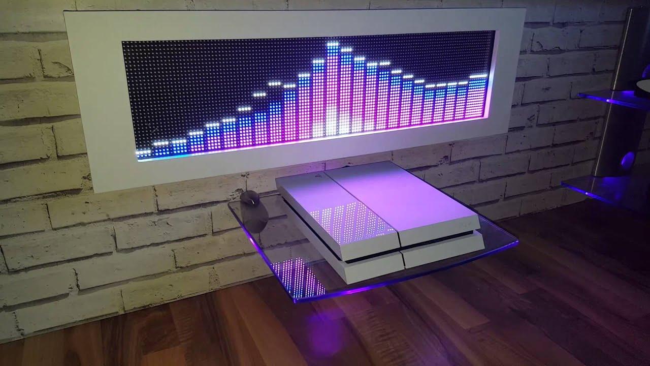 RGB LED SPECTRUM ANALYZER