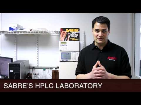 SABRE PEPPER SPRAY HPLC GUARANTEE