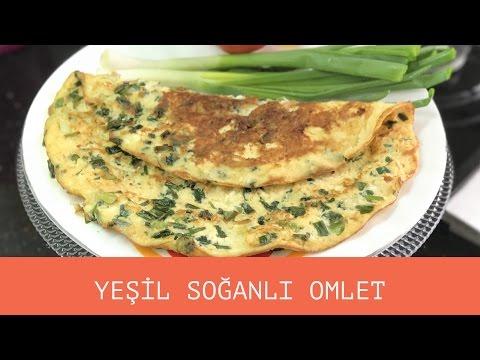 Yeşil Soğanlı Omlet Tarifi - Naciye Kesici - Kahvaltılık Tarifler