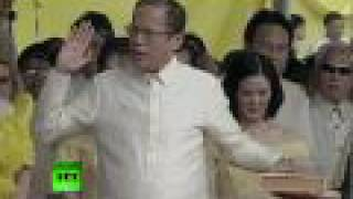 Video of Noynoy Aquino inauguration as Philippine president