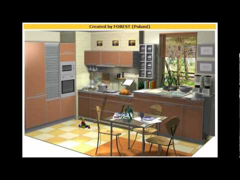 Free cabinet kitchen design software program youtube for Kitchen design program
