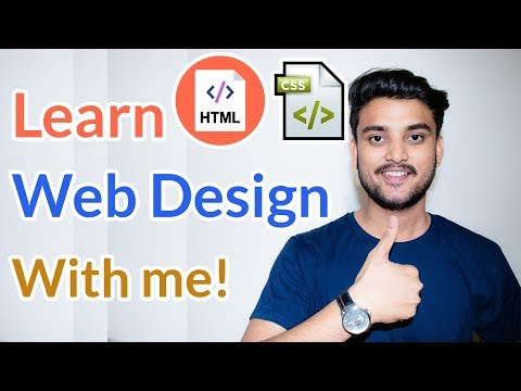 Learn Web Design With Me! –  Web Designing Course – Hindi