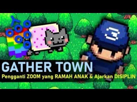 Gather Town - Pengganti Zoom yang Ramah Anak
