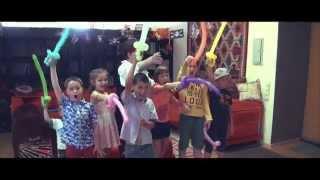 видео Пиратская вечеринка для детей, или Все на корабль веселого праздника!