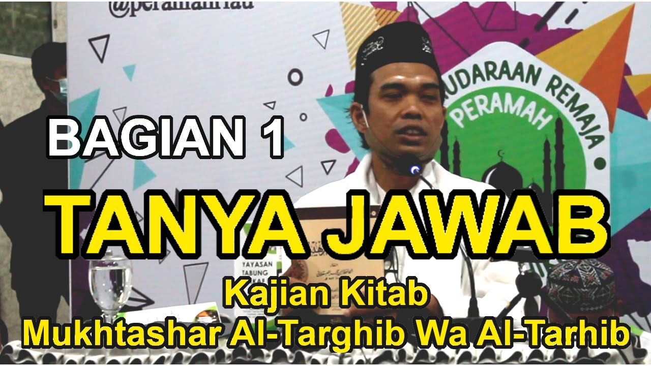 Ceramah Ustadz Abdul Somad Terbaru 2020 - Tanya Jawab di ...