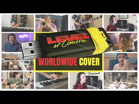 Level of Concern (Cover) - Twenty One Pilots Collab #StayHome (At Home Edition)