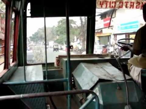 KSRTC bus ride Thiruvananthapuram city bus ride