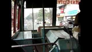 KSRTC bus ride Thiruvananthapuram city bus ride