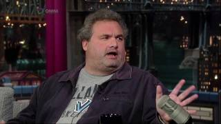 Artie Lange On Letterman 10/14/2011