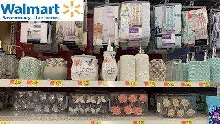 Walmart Bath Sets & Bathroom Decoration Accessories | Shop With Me August 2019
