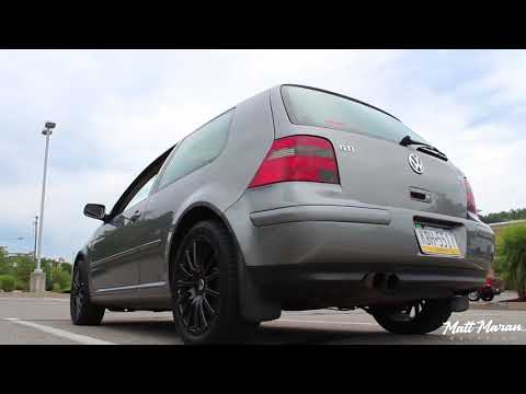 Sound: 42 Draft Designs Exhaust on MK4 VW GTI 1.8T