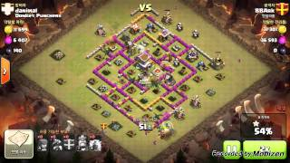[Clash of Clans] th8 Clan Wars Dragon attack strategy