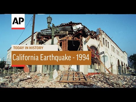 California Earthquake 1994 Today in History 17 Jan