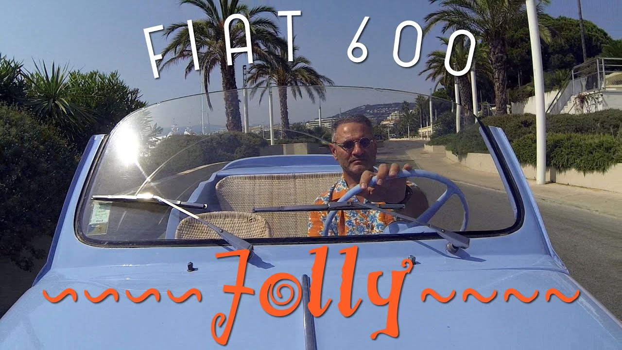 fiat 600 jolly cannes youtube. Black Bedroom Furniture Sets. Home Design Ideas