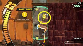 How to Play Skybolt Zack - Tutorial 1: Rocket Punching