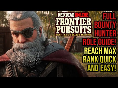 Red Dead Redemption 2 Online - Bounty Hunter SIMPLE Guide! How To Reach Max Rank Quickly!