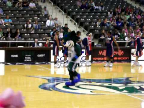 single ladies--Thunder (mascot)