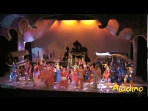 La Arena Brillar. Aladino El Musical