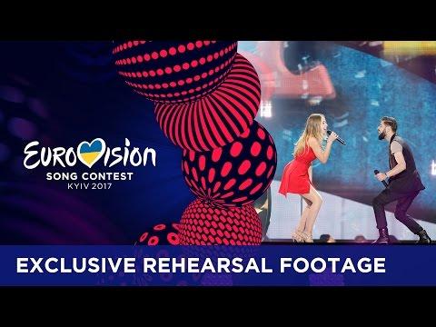 Ilinca ft. Alex Florea - Yodel It! (Romania) EXCLUSIVE Rehearsal footage