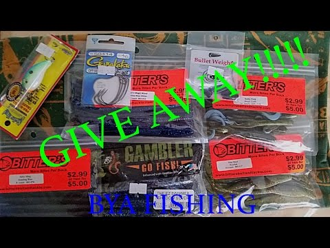 Fishing Tackle Giveaway | BYA Fishing (Closed)