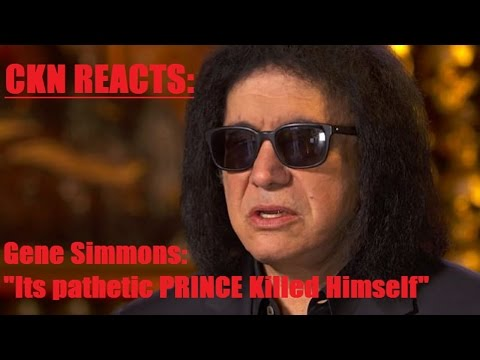 CKN Reacts to Gene Simmons Saying 'Its Pathetic PRINCE Killed Himself'