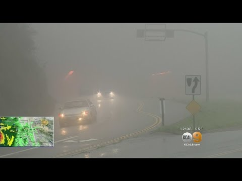 Storm Wreaks Havoc On Southern California