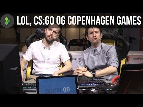 LoL CS:GO og Copenhagen Games!  One Take ESport del 1