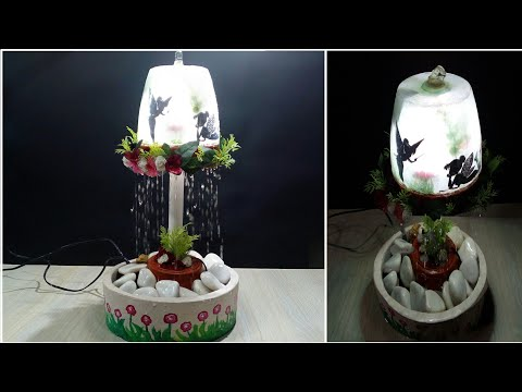 How to make a Fountain as Kids Night Lamp