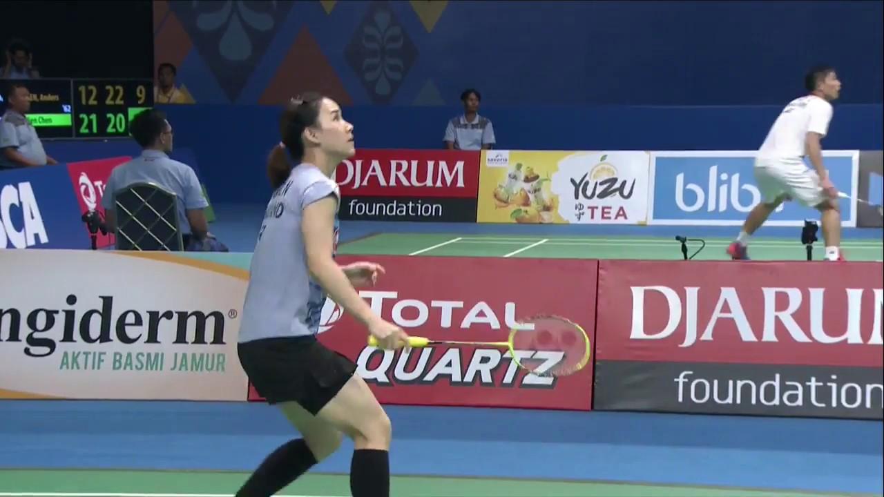 BCA Indonesia Open 2017 Badminton R16 M3 WS